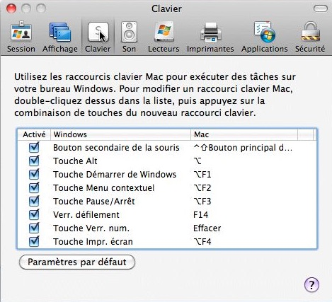connexion bureau 224 distance pour mac r 233 glages du mac